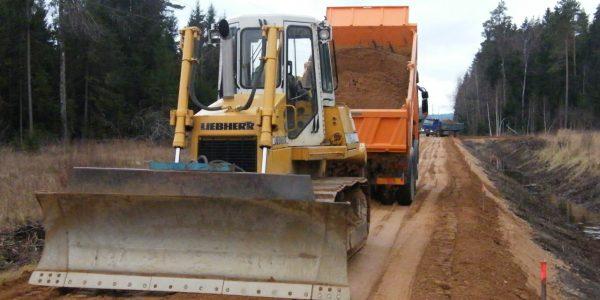 costruzione stradale